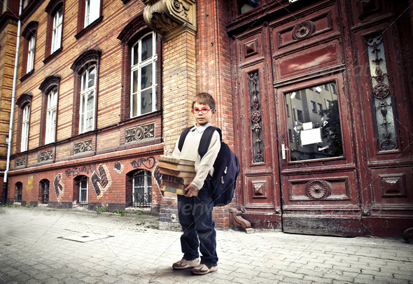 Out of School - Stock Photo - Images