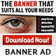 Standard Banner Ad - GraphicRiver Item for Sale