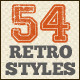 56 Retro Layer Styles - GraphicRiver Item for Sale