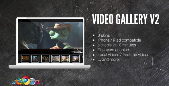 Video Player with Playlist - Cornerstone WP AddOn /w WooCommerce