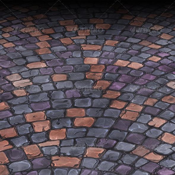 3DOcean Stone Floor Tile 1 3814607