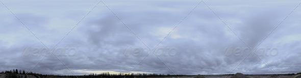 3DOcean Skydome HDRI III Brooding Clouds 3820519