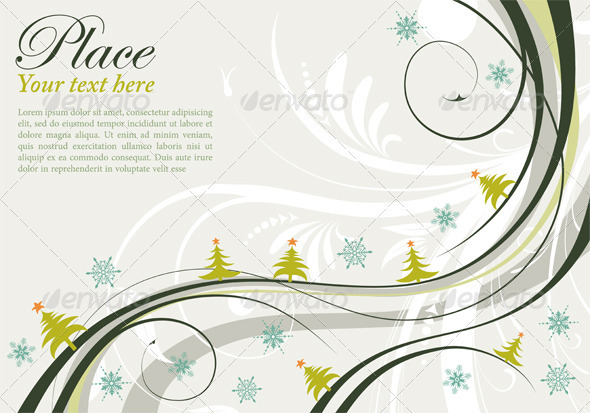 GraphicRiver Christmas Background 411446