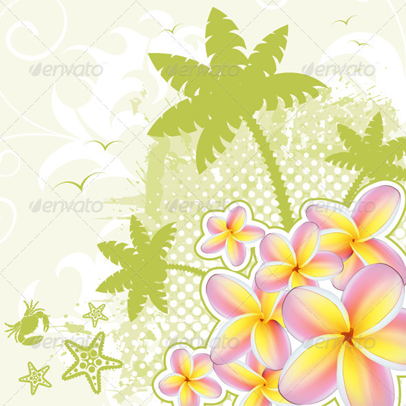 Summer background GraphicRiver - Vectors -  Conceptual  Nature  Seasons 411462