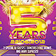 Club Birthday/ Celebration Flyer - GraphicRiver Item for Sale