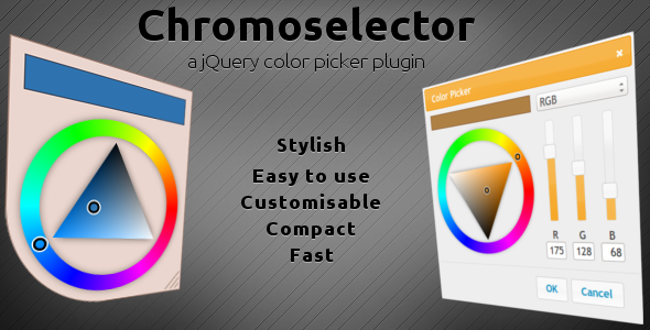 CodeCanyon Chromoselector a jQuery Color Picker Plugin 3810545