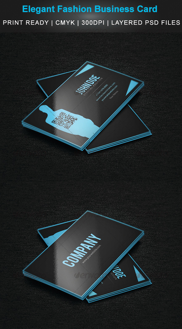 GraphicRiver Elegant Fashion Business Card 3752526