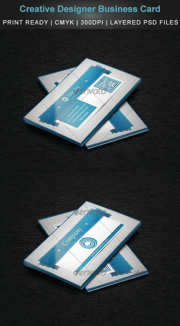 GraphicRiver Creative Designer Business Card 3825985