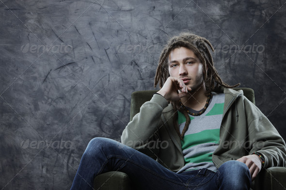 Young guy - Stock Photo - Images