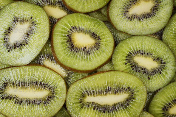 PhotoDune Fresh Juicy Sliced Kiwi Fruit Background 3826840