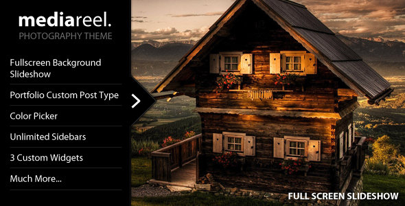 MediaReel - Portfolio WordPress Theme - ThemeForest Item for Sale