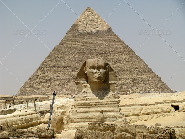 PhotoDune Pyramids and Sphinx 3826881