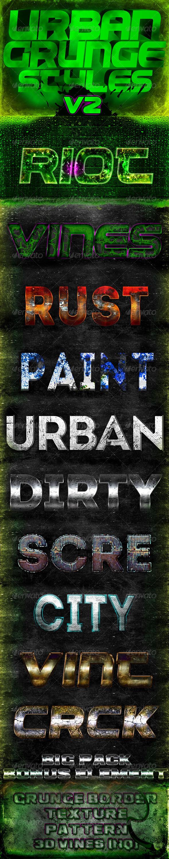 GraphicRiver Urban Grunge Styles V2 3827113