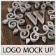 3D Photo Realistic Logo Mock Up Pack 01  - GraphicRiver Item for Sale