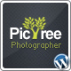 PicTree - A clean Photographer Wordpress Theme - ThemeForest Item for Sale
