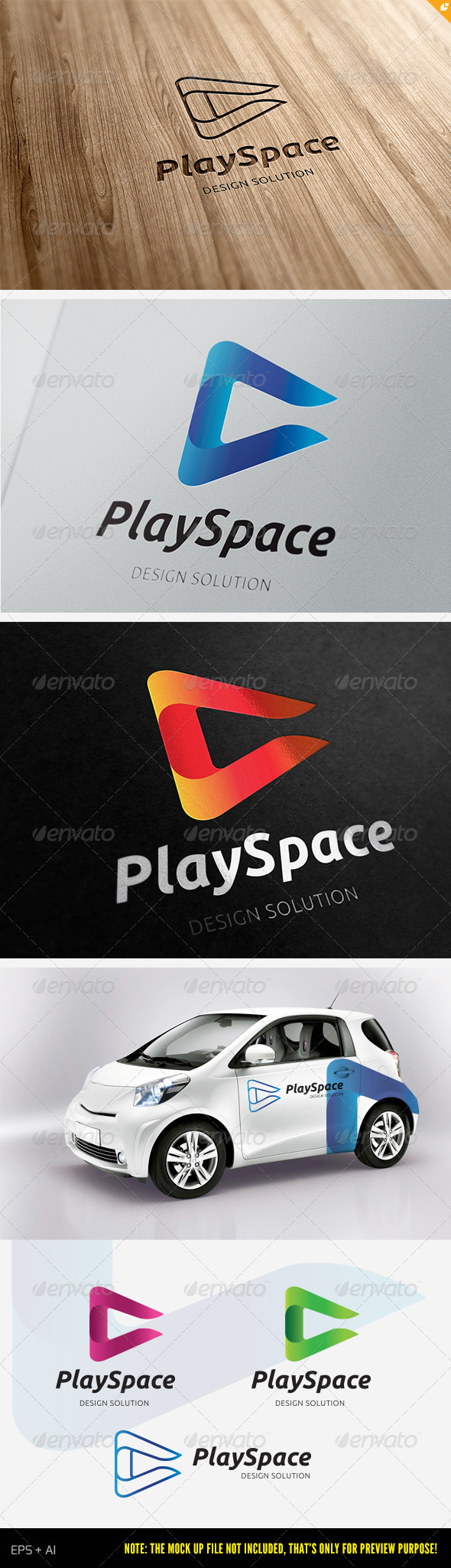 GraphicRiver Play Space Logo 3832138