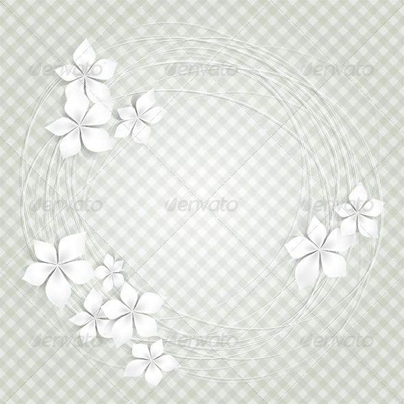 GraphicRiver White Flowers 3832598