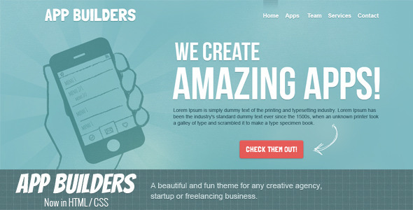 App Builders HTML - Marketing Corporate
