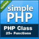 simplePHP Class - CodeCanyon Item for Sale