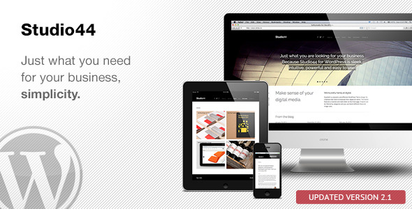 Studio44 WordPress Theme