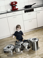 Playing drums with pots and pans - PhotoDune Item for Sale