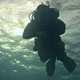 Diver Swims Over Camera - VideoHive Item for Sale