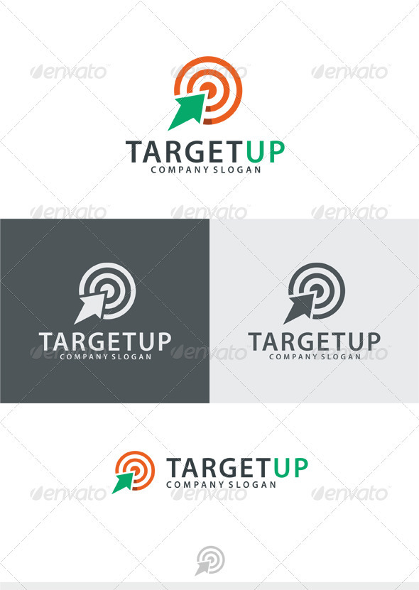 GraphicRiver Target Up Logo 3797378