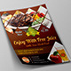 Steak Restaurant Flyer - GraphicRiver Item for Sale