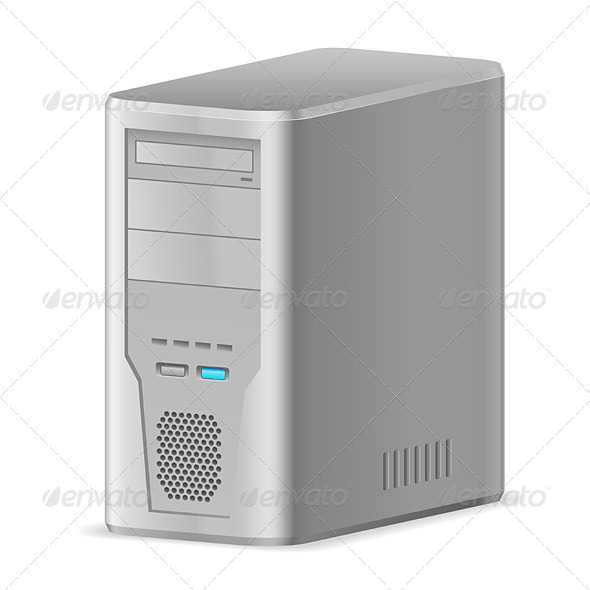 GraphicRiver Case of Computer 3839981