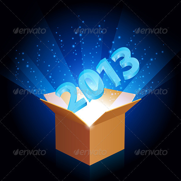 GraphicRiver Open cardboard box 3839996