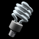 Rotating CFL Compact Fluorescent Lightbulb & Alpha - VideoHive Item for Sale