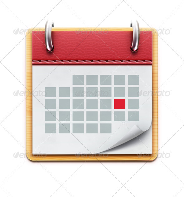 GraphicRiver Calendar Icon 3841786