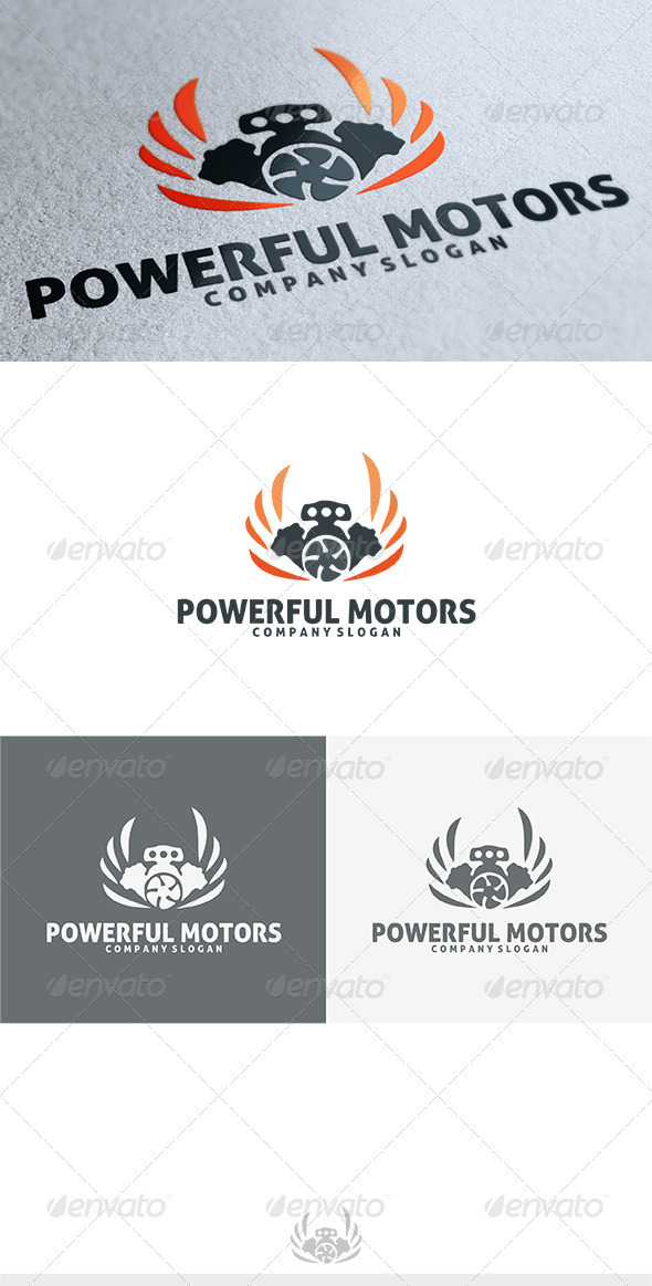 GraphicRiver Powerful Logo 3771947
