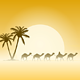 Camels and Palms - GraphicRiver Item for Sale