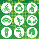 Eco Green Icon - GraphicRiver Item for Sale