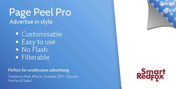 CodeCanyon Page Peel Pro 3842307