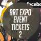 Art Expo Art Show Event Tickets & Passes V.2 - GraphicRiver Item for Sale