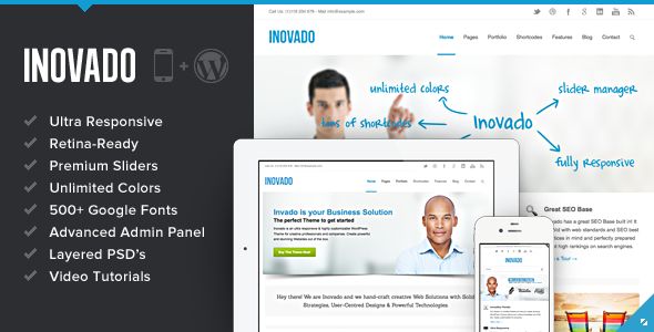 ThemeForest Inovado Retina Responsive Multi-Purpose Theme 3810895