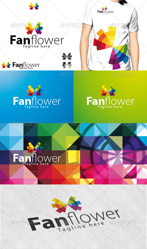 GraphicRiver Fanflower Logo 3729576