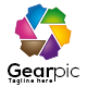 Gearpic Logo - GraphicRiver Item for Sale