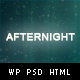Afternight - A Stylish Minimalist Responsive Theme - ThemeForest Item for Sale