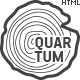 Quartum Site Template - ThemeForest Item for Sale