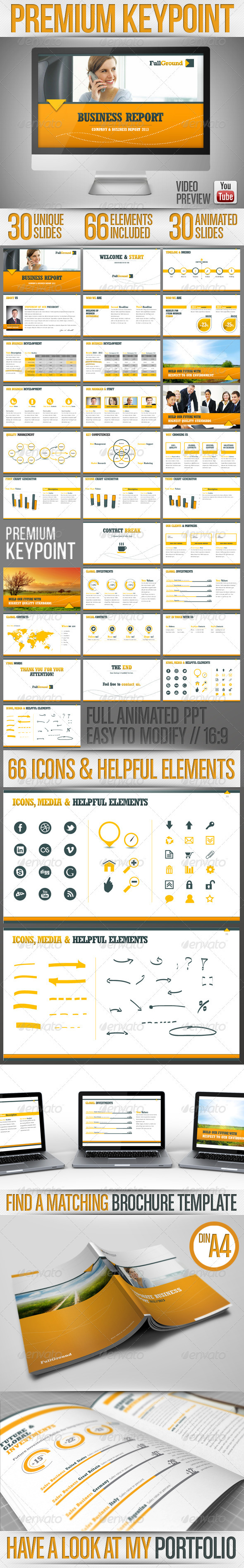 GraphicRiver Fullground Keypoint Presentation Template 3848093