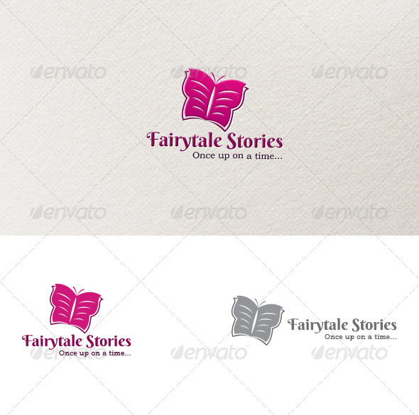 GraphicRiver Fairytale Stories Logo 3740976