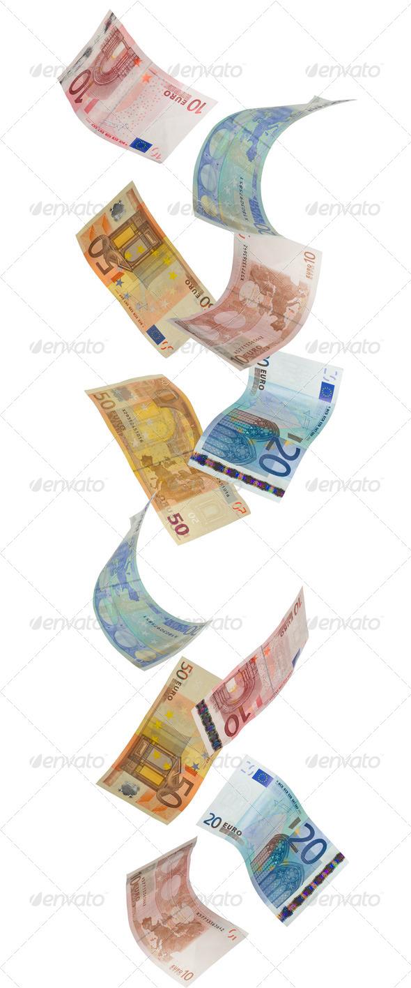 PhotoDune Euros Falling 3851245