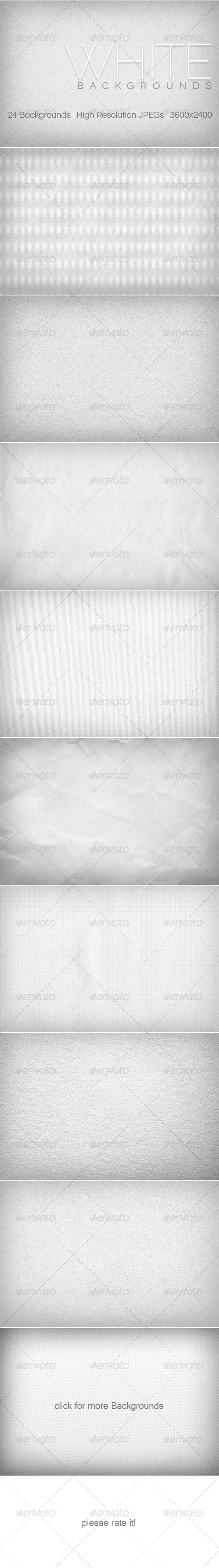 GraphicRiver White Backgrounds 3850504