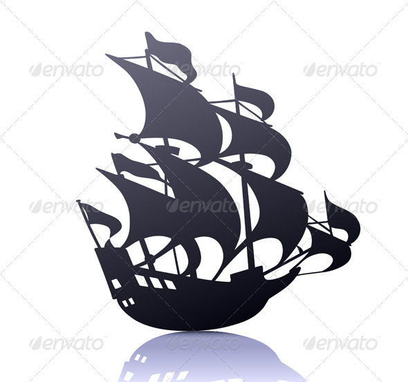 GraphicRiver Sailing Ship 3850602