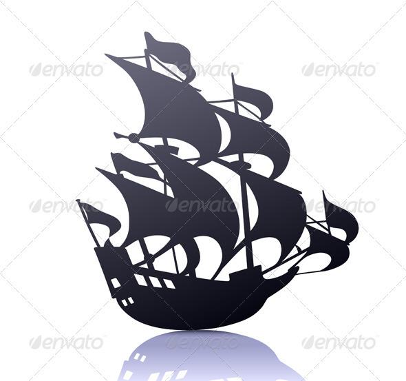 GraphicRiver Sailing Ship 3850602