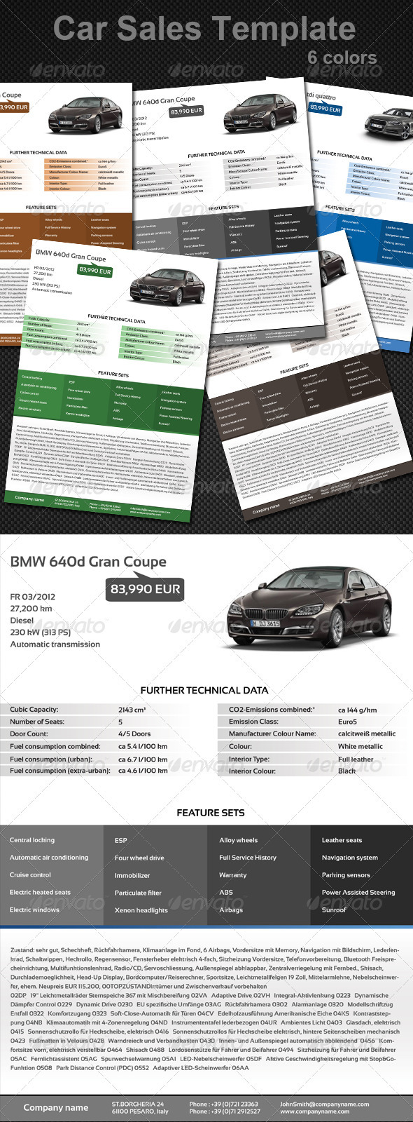 GraphicRiver Sell Your Car 3607789