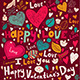 Valentine Greeting Card - GraphicRiver Item for Sale
